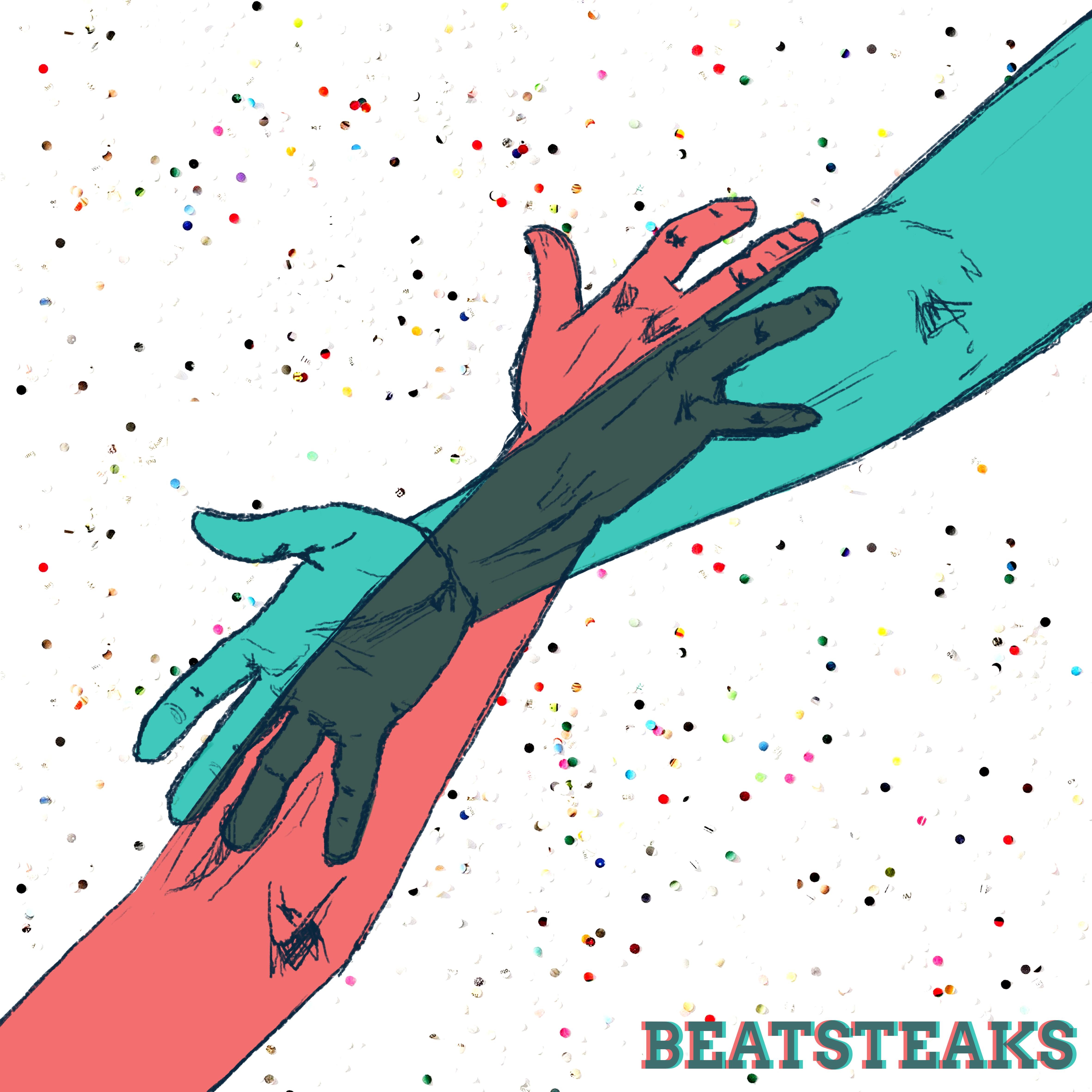 """Coverentwurf für die Berliner Rockband """"Beatsteaks"""""""